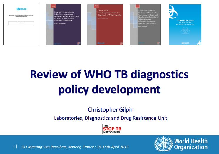 review of WHO policy